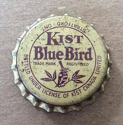Kist Blue Bird Grape Soda--Rare !!!--1930's--Soda Bottle Caps !!