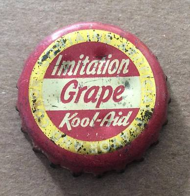 Kool-Ade--Imitation Grape Soda--1940's--Soda Bottle Caps !!
