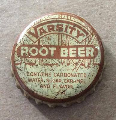 Varsity Root Beer--1930's--Soda Bottle Caps !!