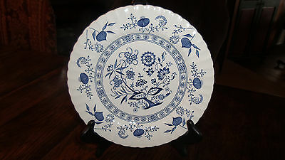 J & G Meakin Classic English Ironstone  Blue Nordic Dinner Plate