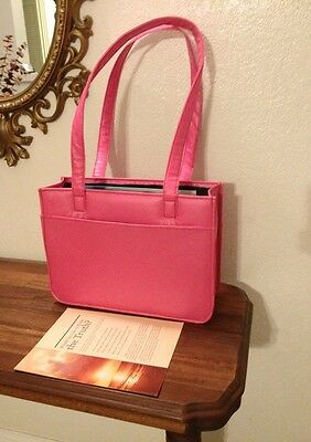 SPECIAL! IRREGULAR--SOPHIA HOT PINK SERVICE BAG $23, Jehovah's Witness