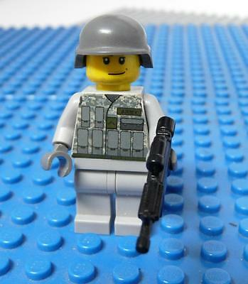 LEGO Minifig Custom Army Figure #4 x 1PC