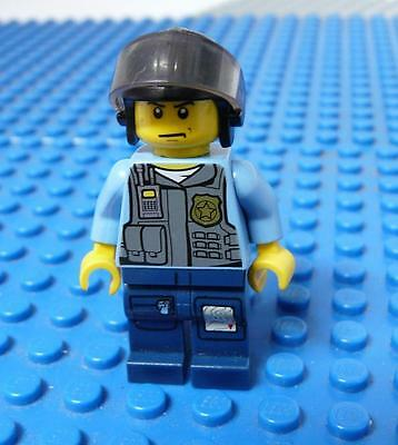 LEGO Minifig Police - LEGO City Undercover Elite Police Officer 3 x 1PC