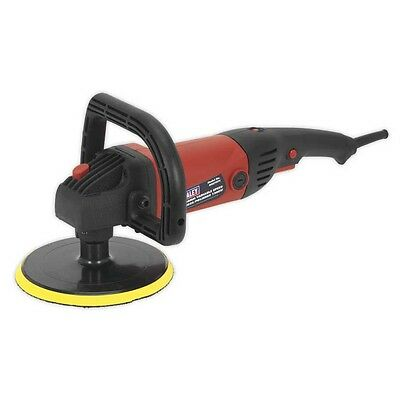 Sealey MS875PS Sander/Polisher Ø180mm Variable Speed 1200W/230V Car Bike