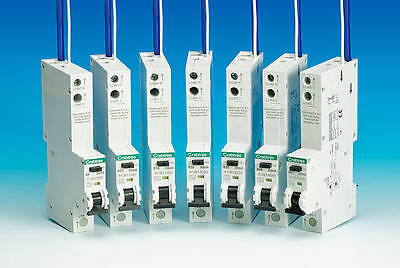 Crabtree Starbreaker RCBO 6Amp, 16Amp, 20Amp, 32Amp and 40Amp **LOOK**