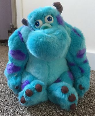 Sulley Monsters Inc Disney Plush cuddly soft toy 12""