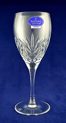 "Royal Doulton ""JULIETTE"" Wine Glass - 17.2cms (6-3/4"") Tall"