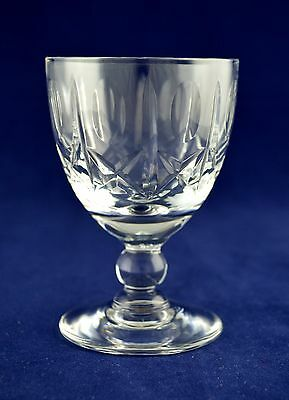 """Royal Brierley Crystal """"ASCOT"""" Sherry Wine Glass - 9.9cms (3-7/8"""") Tall"""