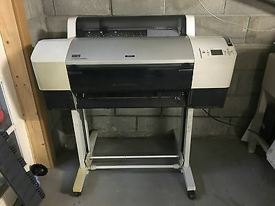 Epson Stylus Pro Large Format Printer 7800 Art Canvas Poster Proofing Business