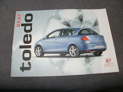 Seat Toledo     Car Brochure   2004  French  Text