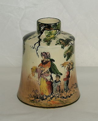 Royal Doulton Series Ware Tea Cannister  ; English Old Scenes ; The Gleaners