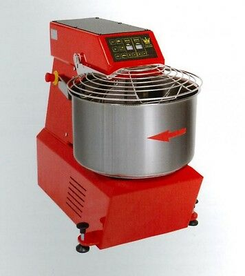 SPIRAL DOUGH MIXER 50 LT (56 qt)  - 42 KG ( 92 lbs) - WITH TIMER - made in Italy