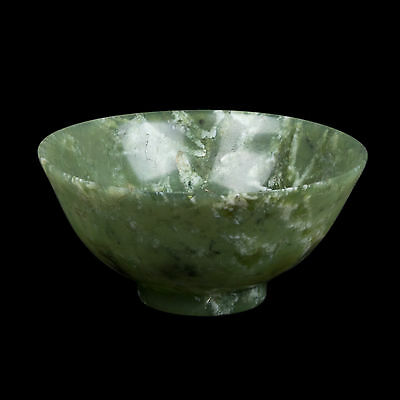 China. 20. Jh. Schale - A Small Chinese Hardstone 'Jade' Bowl - Chinois Cinese