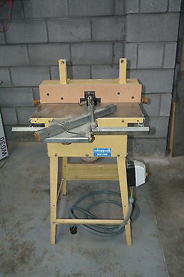 Scheppach HF 30 Spindle Moulder With Sliding Table Single Phase Woodworking tool
