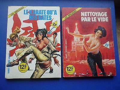 Editions ELVIFRANCE  :   LES DROLESSES  N° 49 & 50   -   TBE