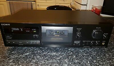 Sony TC-K661S 3-head vintage stereo cassette deck, Hifi separate
