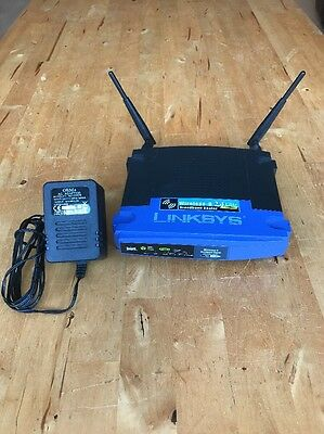 Linksys WRT54GL v1.1 Wireless Router with TOMATO 1.2 or DD-WRT firmware OPENVPN