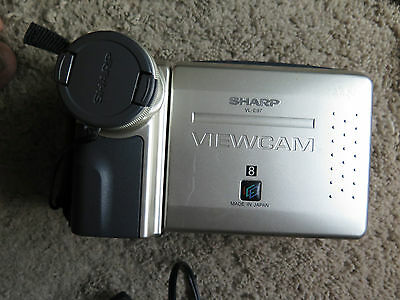Sharp Viewcam VL-E97 Video 8 video Camera Ex Cond works well use for transfering