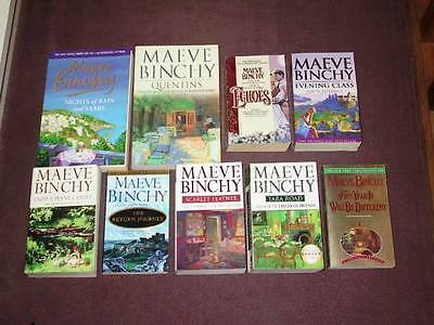 Maeve Binchy Book Lot – 9 Paperback Books (USED) Light a Penny Candle, etc.