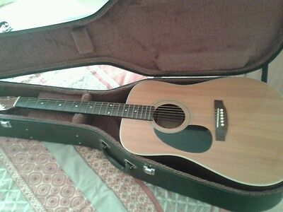 Tanglewood acoustic lefthand  guitar