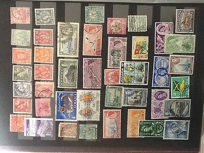 British Colony & Territories - Nice Selection of Old Used  stamps VG L 4809