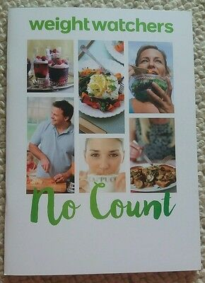 Weight watchers no count (filling & healthy) plan booklet BN NEW simple start