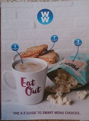 BN NEW 2017 Weight Watchers Eat Out Guide Smart Points Only in Meetings