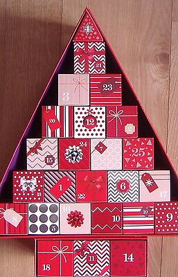 M&S 2016 Christmas Tree Beauty Advent Calendar BNIB