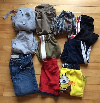 Lot of 9 shorts plus 1 pair of Levi jeans size 3T