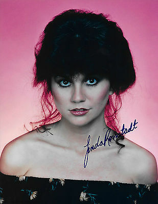 """Linda Ronstadt 8x10 Signed Autograph Reprint """"Mint"""" {FREE SHIPPING} 03"""