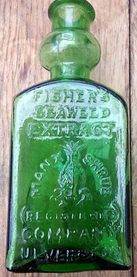 Antique Fishers Seaweed Extract Bottle