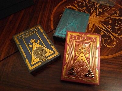 3 Deck Set | Dedalo Ultra Rare Limited Edition Custom Playing Cards Collectable