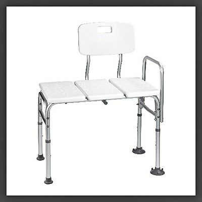 Bathtub Assistance Bench White  Chair Easy Use