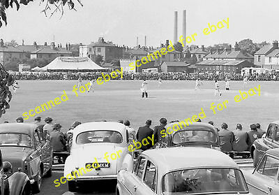 Photo - Gravesend Cricket Club, Kent v Worcestershire, May 1961 (2)