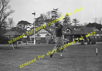 Photo - Sidcup Golf Club House, 1936