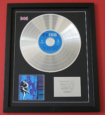 GUNS N ROSES Use Your Illusion II CD / PLATINUM LP DISC Presentation
