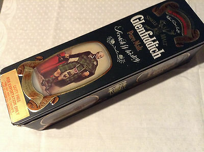 Glenfiddich Scotch Whisky Tin Clan Campbell Glen Etive, Cawdor,Inverary,Loch Awe