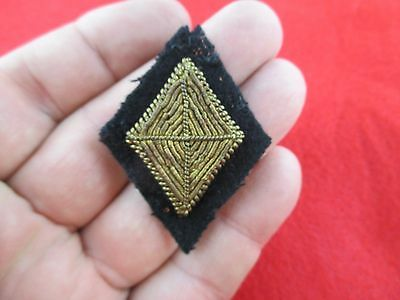 100% Original Civil War Embroidered Cloth 3Rd Corps Hat Badge