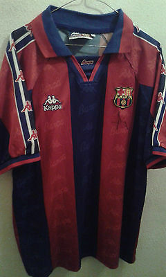 NADAL DREAM TEAM MATCH WORN SIGNED FC BARCELONA Camiseta futbol football shirt