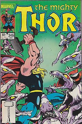 The Mighty Thor #346 Marvel 1984