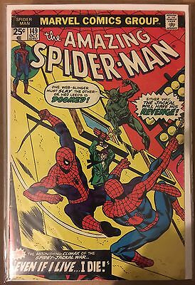 The Amazing Spider-Man #149 ⭐️ GD/VG ⭐️ Clone Story Begins ⭐️ Marvel Comics