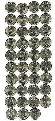 2007-2016 President Dollar 39-Coin Set Brilliant Uncirculated