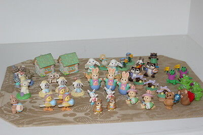 Lot of 40 Hallmark Merry Miniatures Easter Valentine Cute Vintage 1990s (Lot #2)