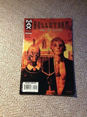 HELLSTORM SON OF SATAN #2 Boarded & Sleeved COMBINED POSTAGE OFFERED
