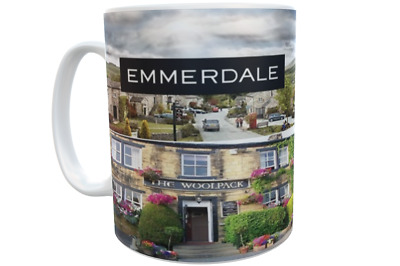 Emmerdale Places Classic Tv Soap Mug *great Gift* Uk Seller