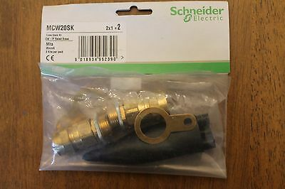 Schneider MCW20SK SWA Brass Cable Gland Kit Outdoor 20mm S (3 SETS IN TOTAL)