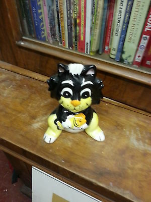 Lorna Bailey Pottery Cat KIPPER Excellent Condition FREE P&P