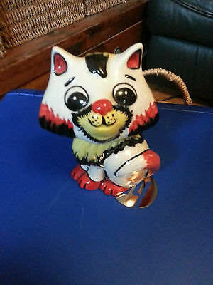 Lorna Bailey cute cat Excellent Condition FREE P&P &&