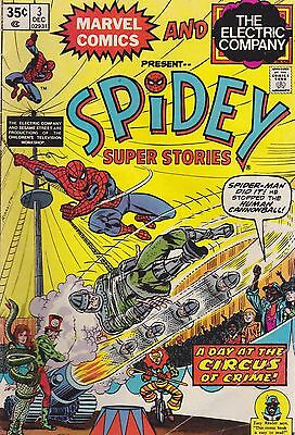 Lot Of 4 Spider-Man Reader Comics  Lot B-1