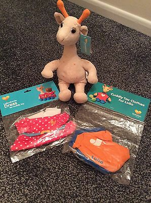 Lollo Giraffe & Costumes - Thomas Cook Sunwing